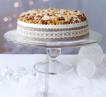 Crunchy nut cake decoration recipe on yummly cakes teacakes this easy almond cake topping makes for a beautiful golden decoration suitable for any special occasion fruitcake from bbc good food forumfinder Images
