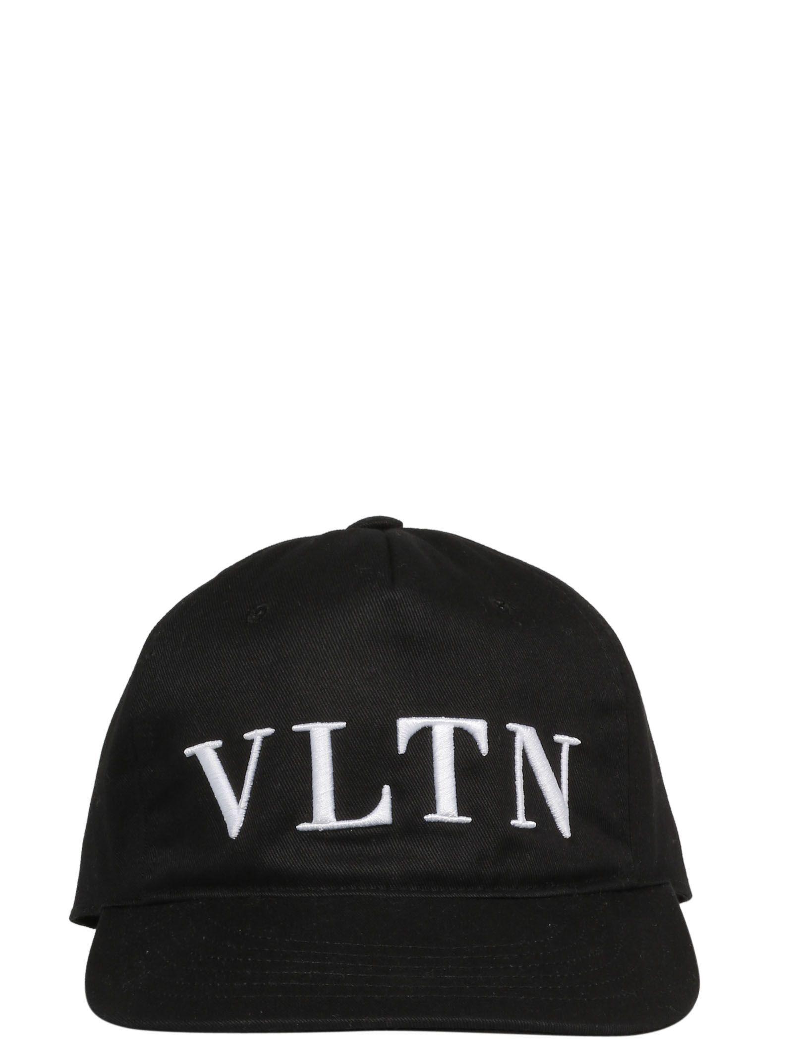 VALENTINO VLTN LOGO BASEBALL CAP.  valentino  880e7089c02