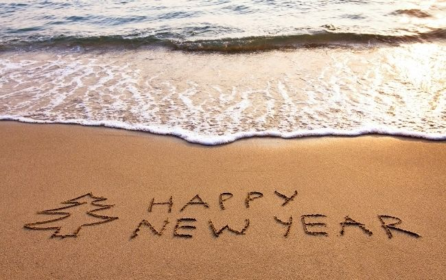 happy new year images with beach happy new year images 2017 happy new year images hd