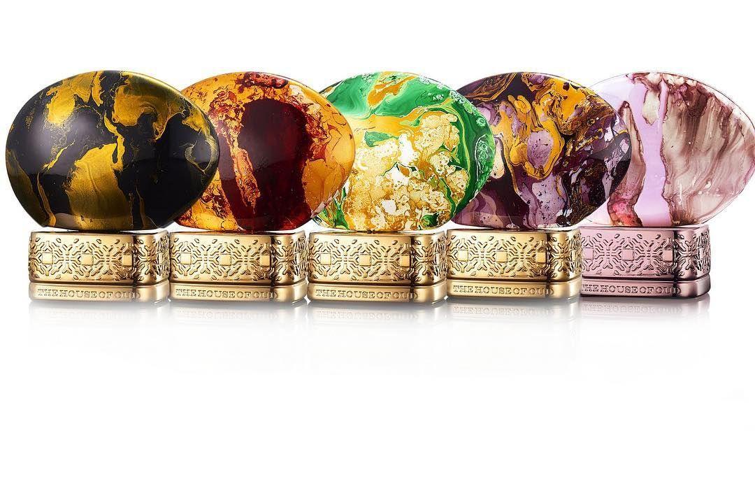 The House Of Oud Klem Garden Collection الانواع المتوفره Almond Harmony Cypress Shade Dates Delight Empathy Grape Pearls متوفر ٧٥ملي مع الكرتون الكميه محدود