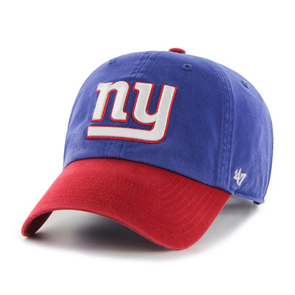 New York Giants Clean Up Two-Tone Royal 47 Brand Adjustable Hat ... c2d503df8
