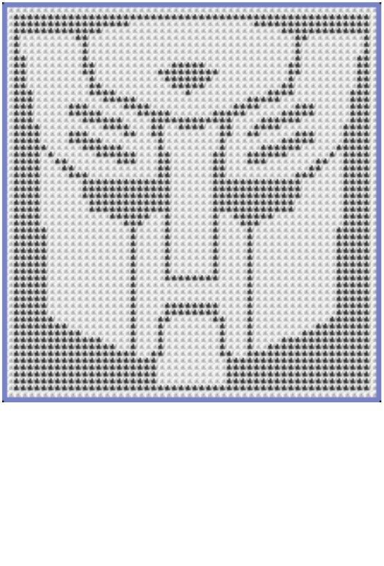 Transformer Logo Doily Pattern | plastic canvas | Pinterest ...