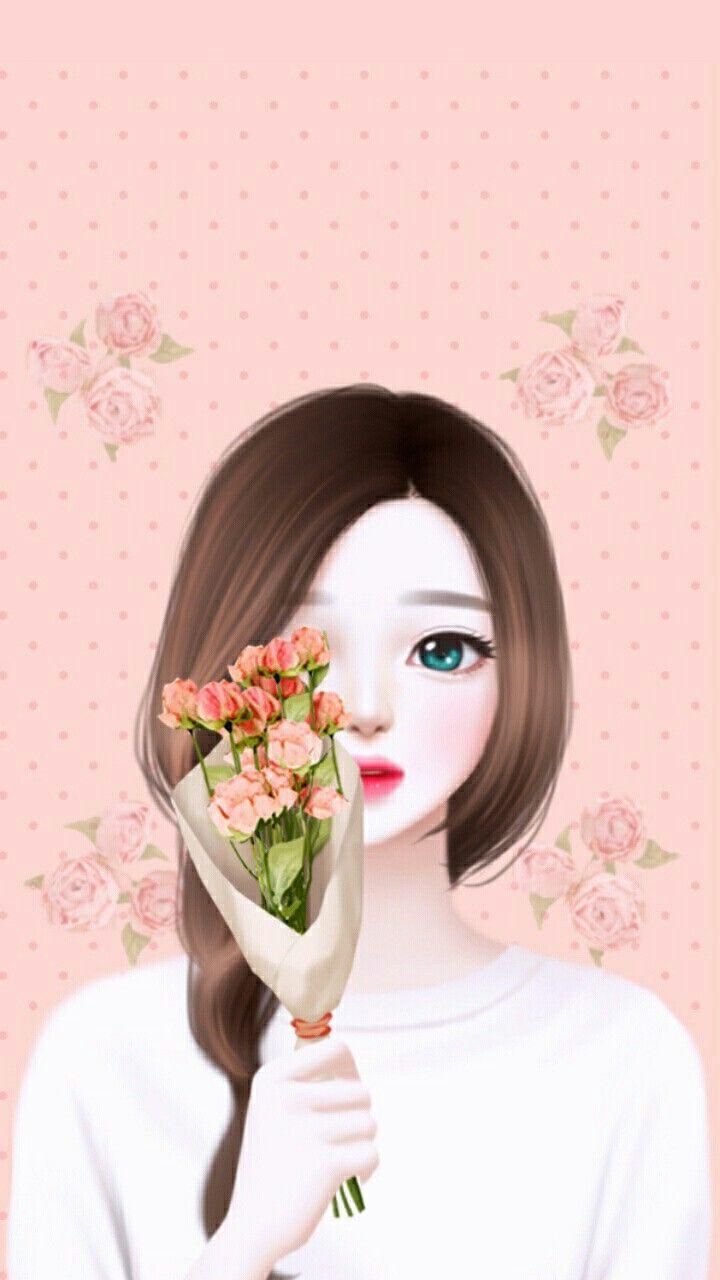 Wanda S Ilustrasi Poster Gadis Animasi