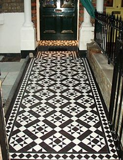 Victorian Floor Tiles In Various Traditional Colourways