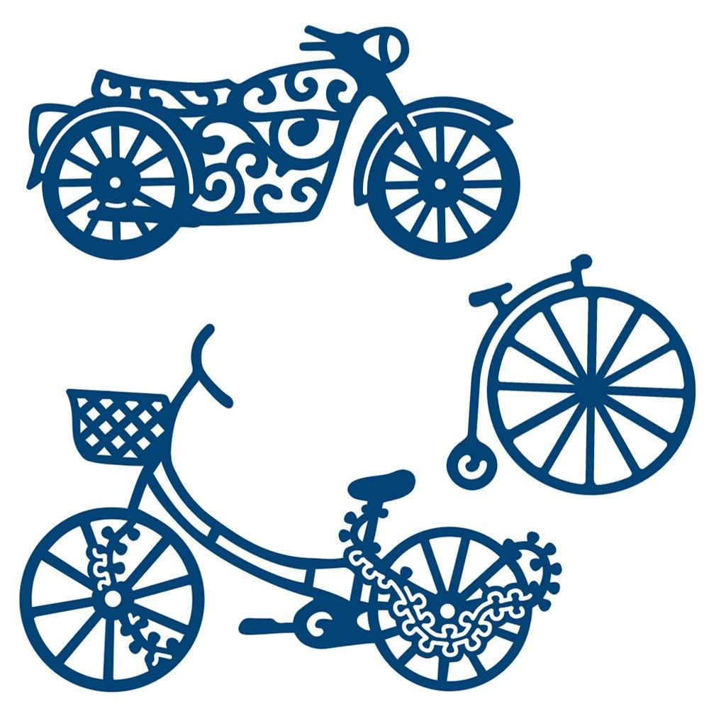 Tattered Lace His Transport Embellishments Die Set   Tattered lace ...
