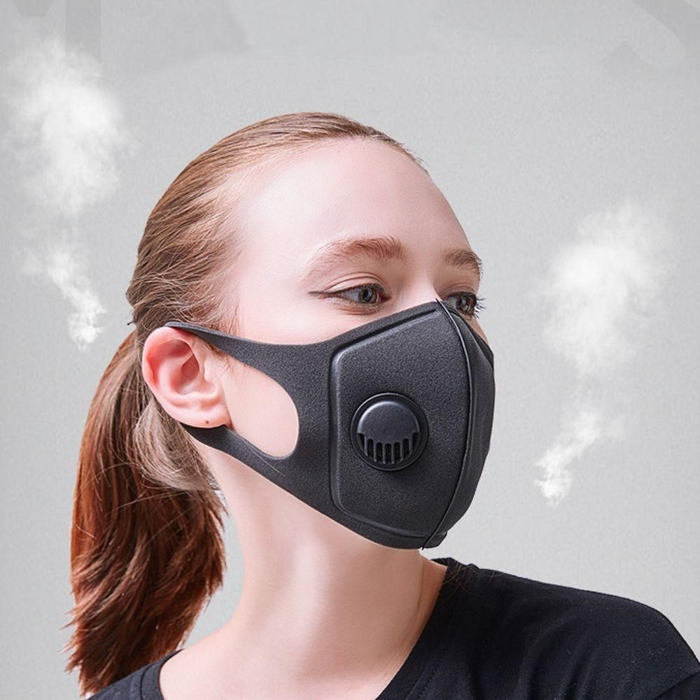 Activated Carbon Face Shield With Filter Washable Reusable Anti Dust Mouth Cover