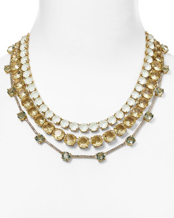 """kate spade new york Carnival Statement Necklace, 15"""""""