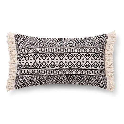 Black global oversized oblong throw pillow threshold - Affordable interior design atlanta ...