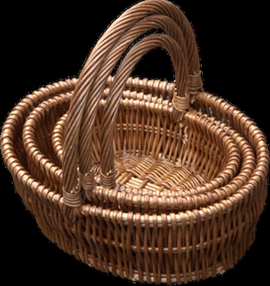 Red Hamper - Set of 3 Oval Gift Shopping Baskets, £20.00 (http://www.redhamper.co.uk/set-of-3-oval-gift-shopping-baskets/)