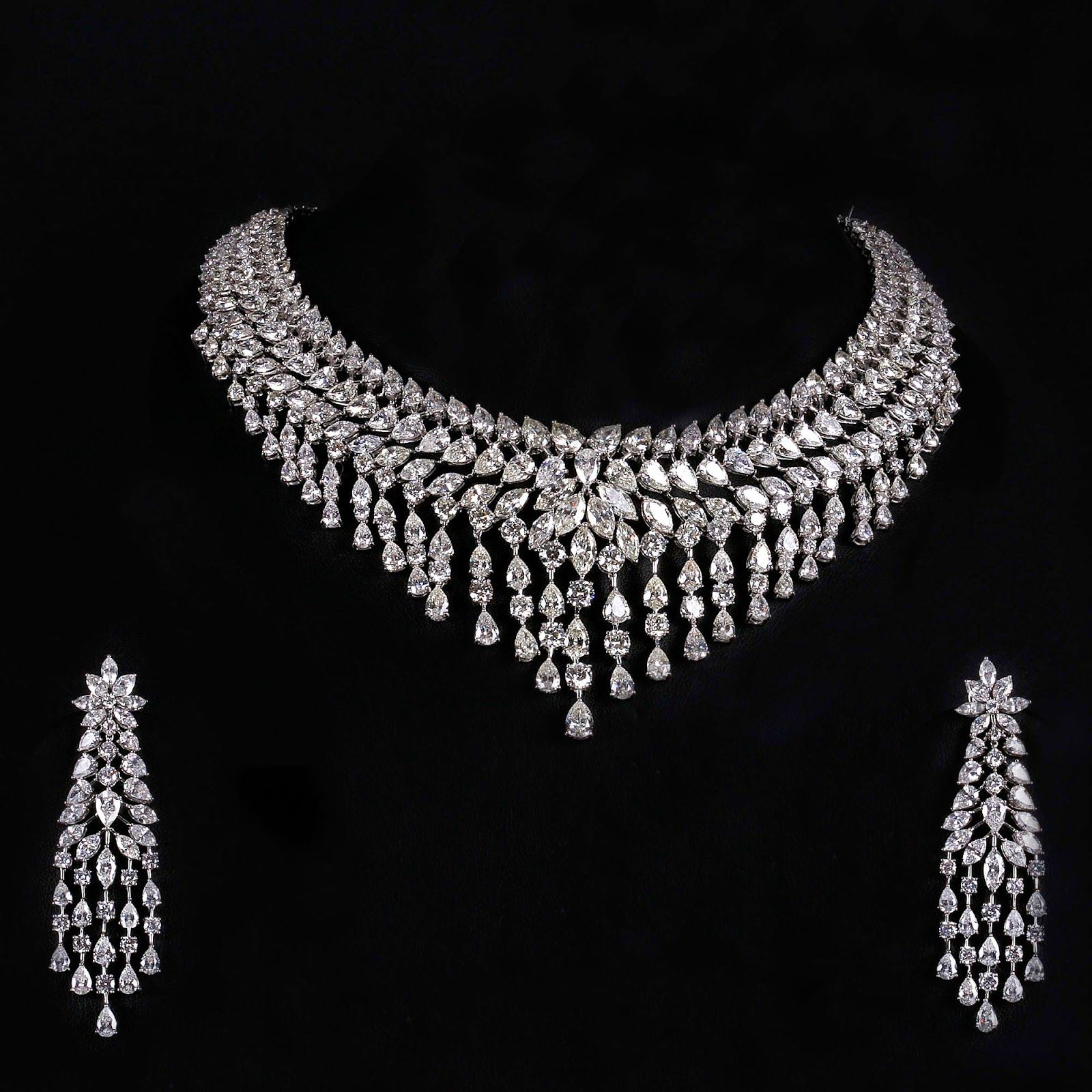 Indian Bridal Diamond Jewellery Schmuck Pinterest