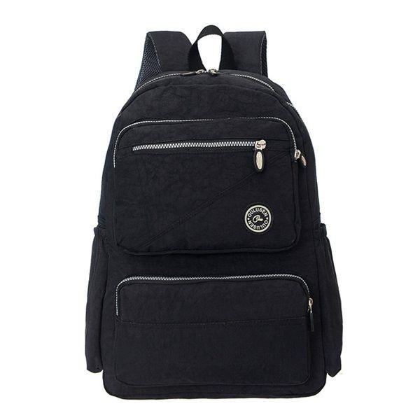 8bea80ec5fc5 Women Nylon Backpack Travel Bag Durable Sport Backpack