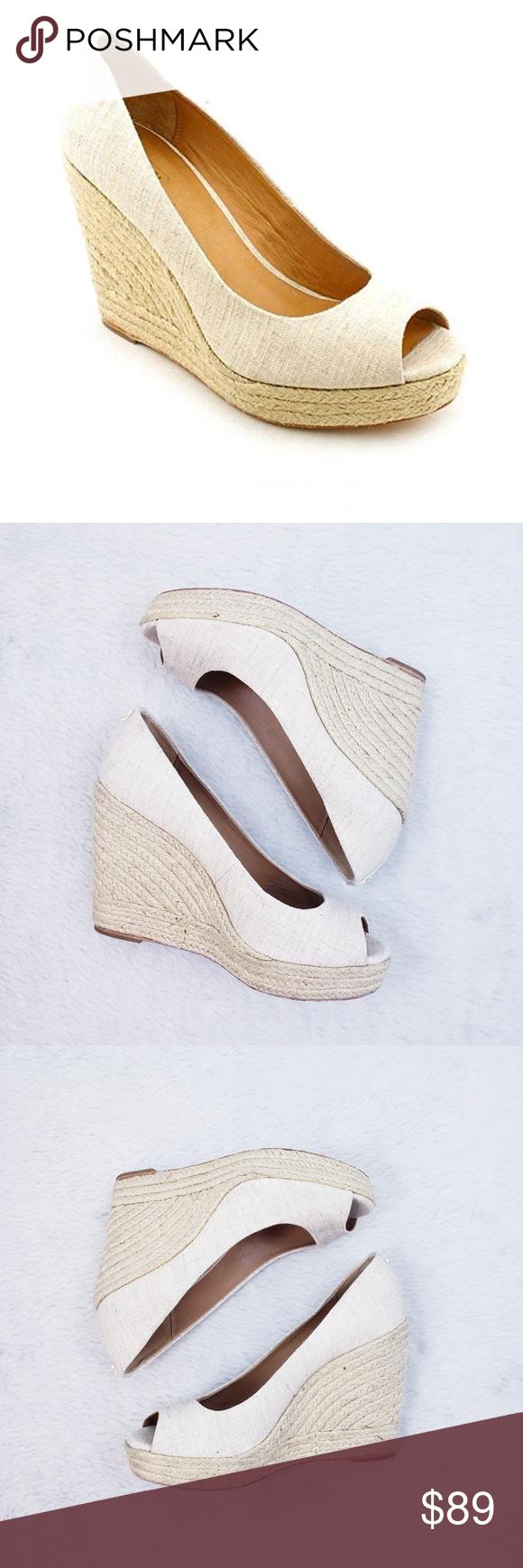Peep toe wedge sandals, Peep toe wedges