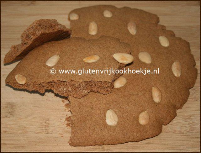 Glutenvrije speculaasbrokken – Het Glutenvrije Kookhoekje