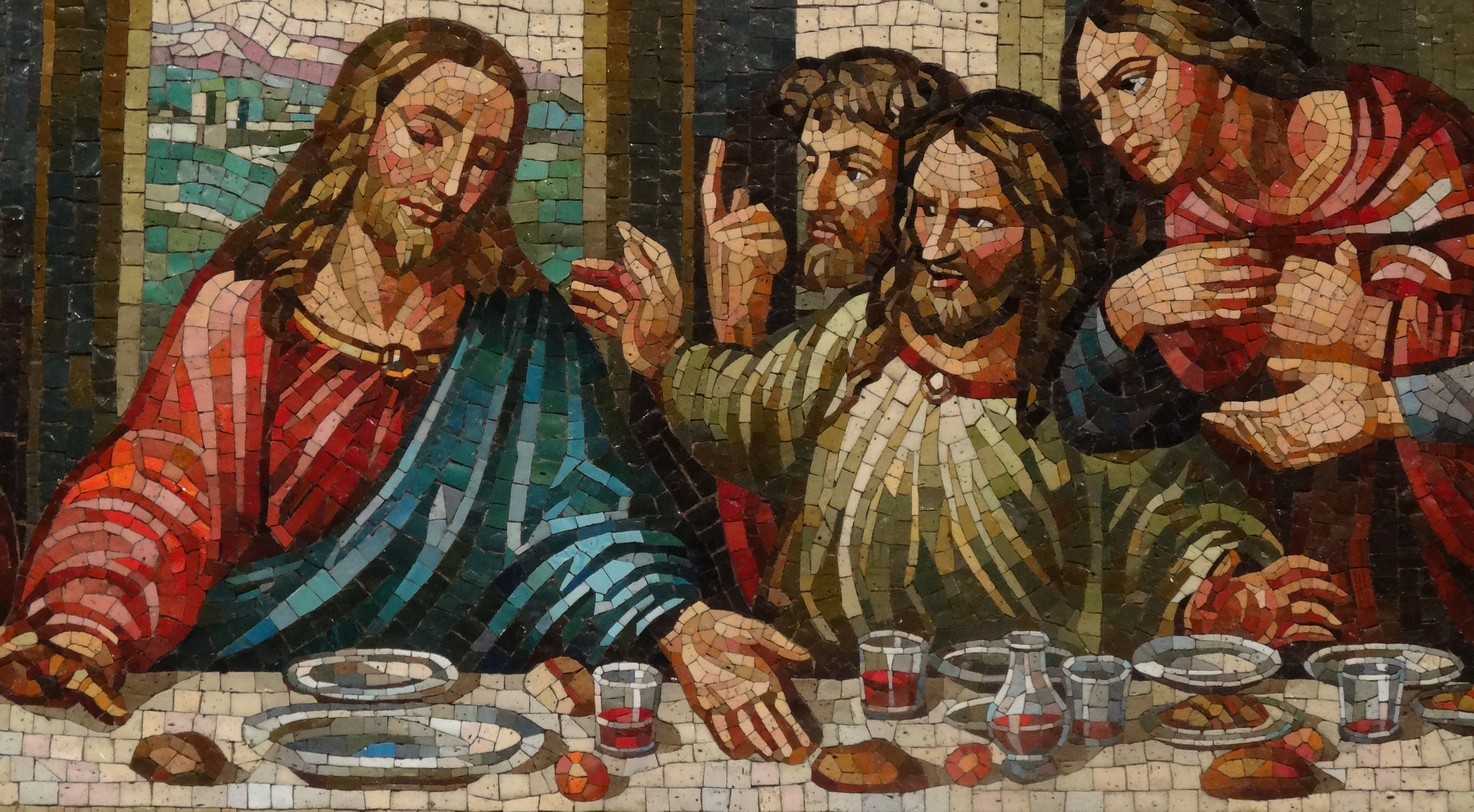Center Of The Lord S Supper Mosaic