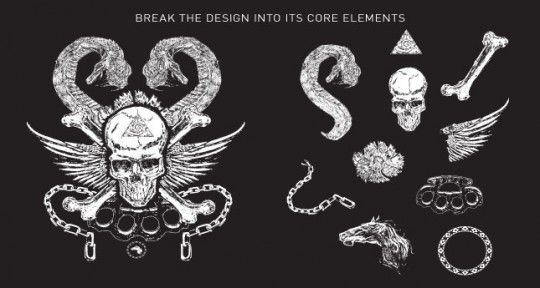 Skull and Snake T-Shirt Design Pack e56c33fe013