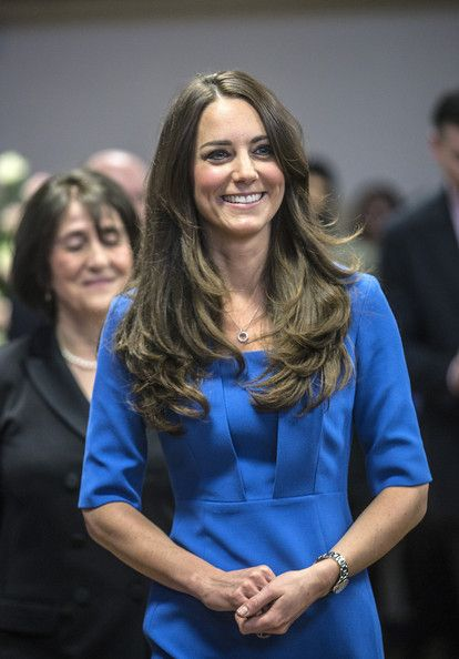 Duchess Catherine opens the new ICAP Art Room at Northholt High School in London. 14 Feb 2014