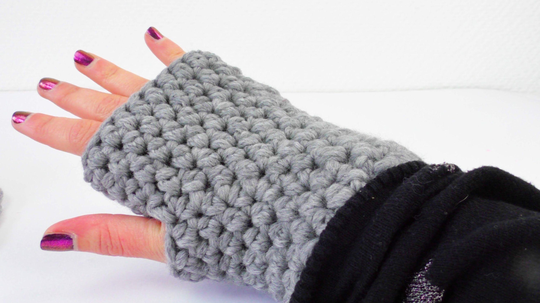 Photo of Häkelarmlinge | Handschuhe für Winterhalbstiche einfach einfach