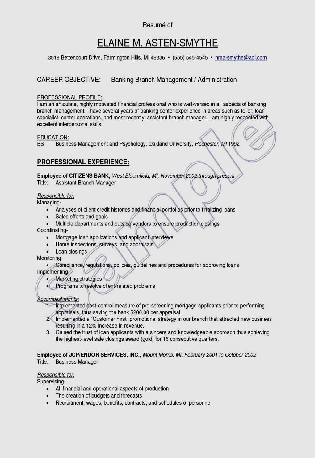 32 New Restaurant Assistant Manager Resume In 2020 Manager