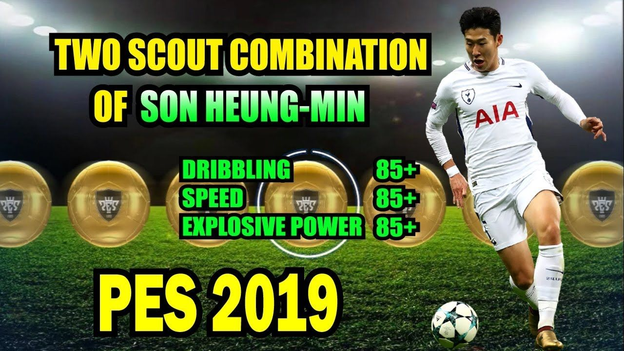 Scout combination of SON HEUNG-MIN || Two Scout combination PES 2019