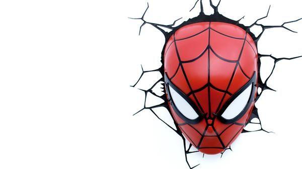 Deco Lights 3d Superhero Man Spider Light In 20193dlightfx Mask N8m0wOvn