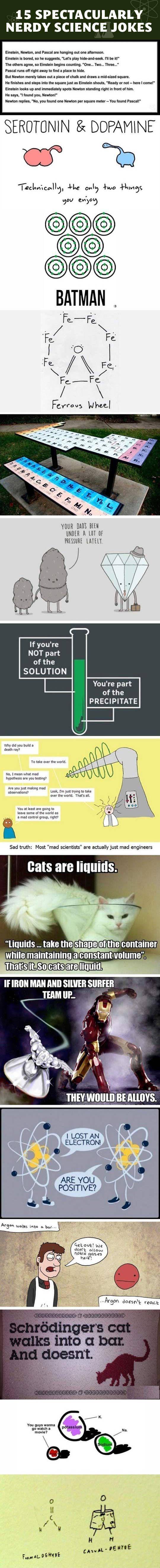 15 nerdy science jokes.