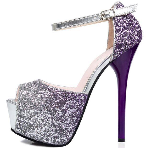 8a2e66588a Shiny Purple Heels Promotion-Shop for Promotional Shiny Purple ...