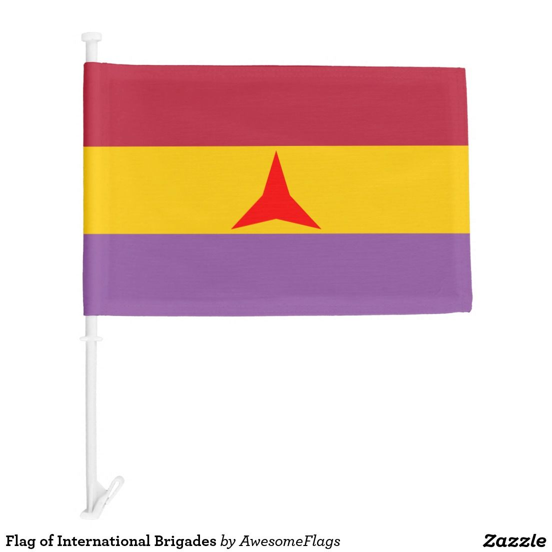 Flag of International Brigades Car Flag