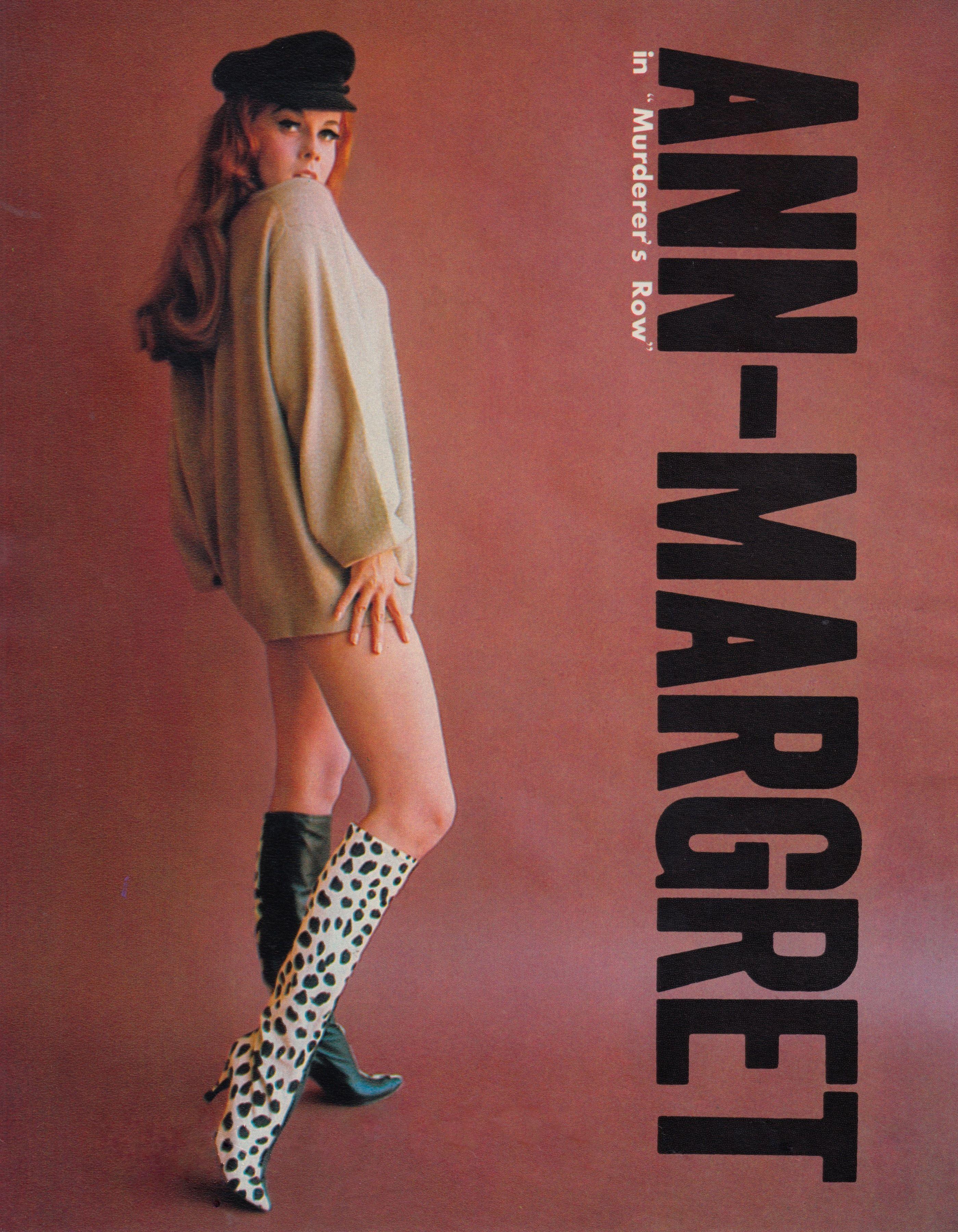 Ann margret murderers row 1966 mod outfit by moss mabry minkshmink