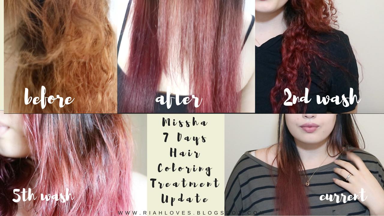 Update Missha 7 Day Hair Color Korea Love Hair Color