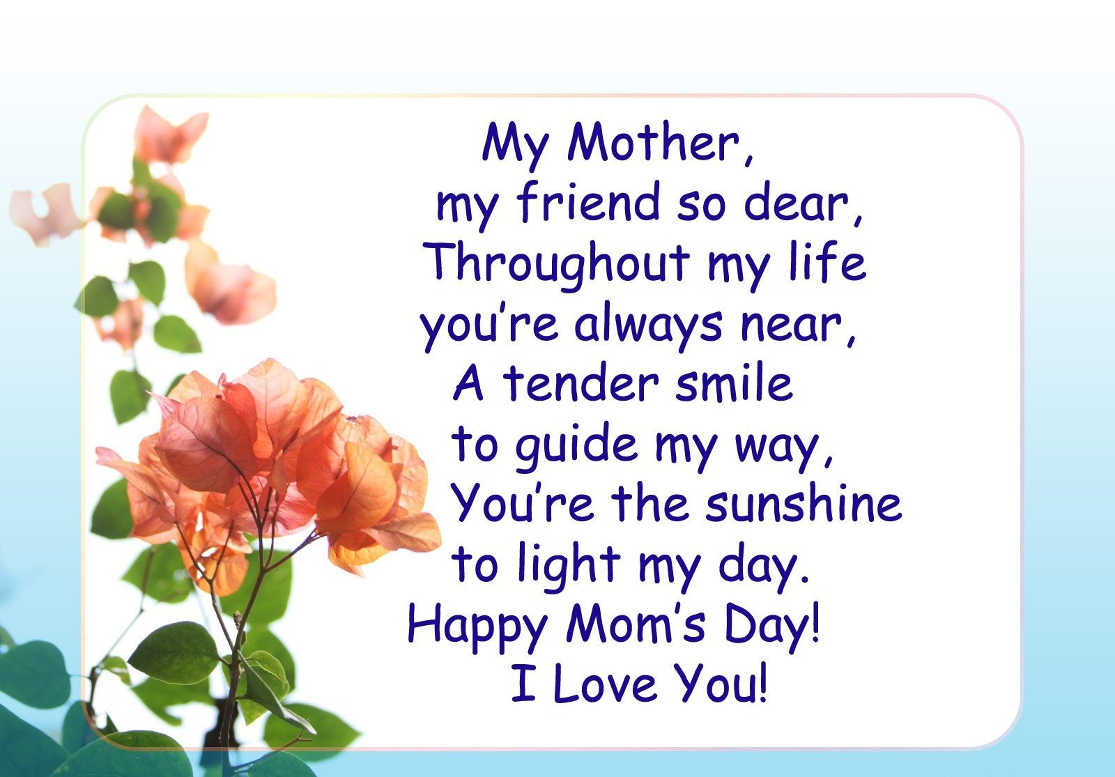 101 Best Mother S Day Quotes Wishes Images For Moms Happy Mother Day Quotes Happy Mothers Day Images Birthday Wishes For Mom