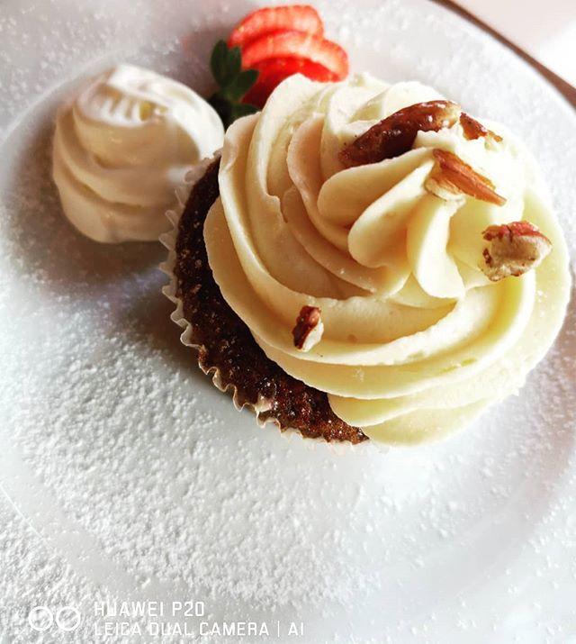 Carrot Cupcake with Lemon Cream #Desserts #frenchtoastkoffiekafee #hartbeespoort @HuaweiZA #HuaweiP20SA #SeeMooore #TheLifesWay #Photoyatra #SouthAfrica #aashishRai #SocialMediaInfluencer #Blogger #Johannesburg #techJournalist #leicadualcamera #AndroidLover #mobilePhotography #SmartphoneCamera #Foodwithcolors #foodlovers #foodblog #foodblogger #Yummilicious #instagrammer #Instafood #Foodporn #ig_great_pics #ig_myshot #shotwithlove #icatching www.thelifesway.com