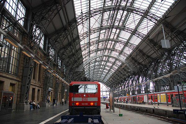 ドイツ連邦共和国 Bundesrepublik Deutschland フランクフルト中央駅 Frankfurt