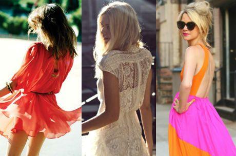 vestidos y espaldas