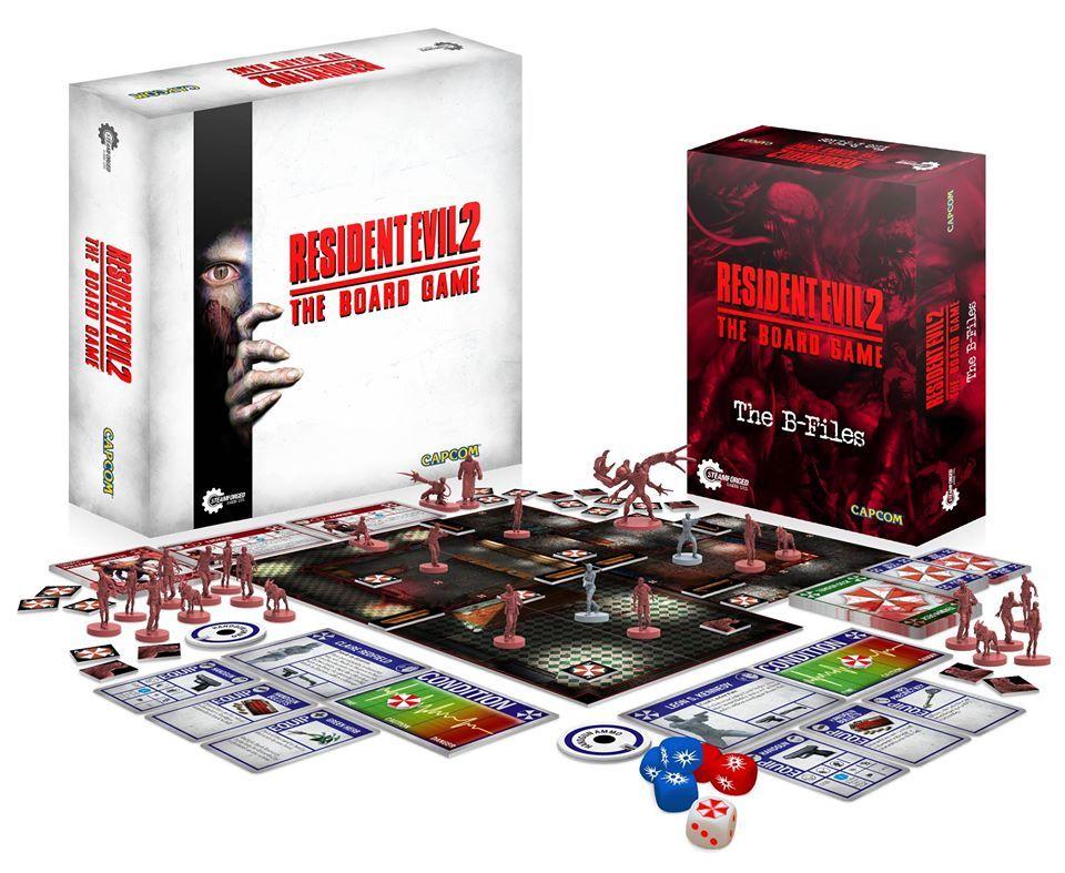 El Juego De Mesa De Resident Evil 2 Se Financia En Una Hora Meri
