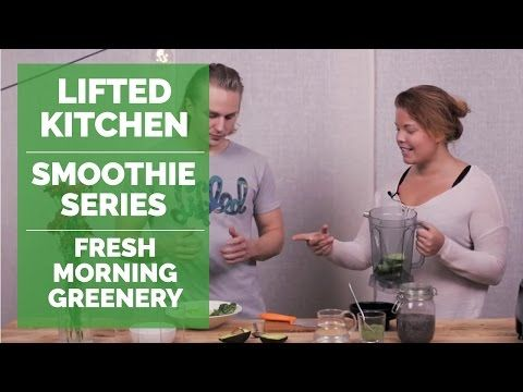 Smoothie Series: Fresh Morning Greenery by Aino Mäkelä | Lifted Kitchen - YouTube
