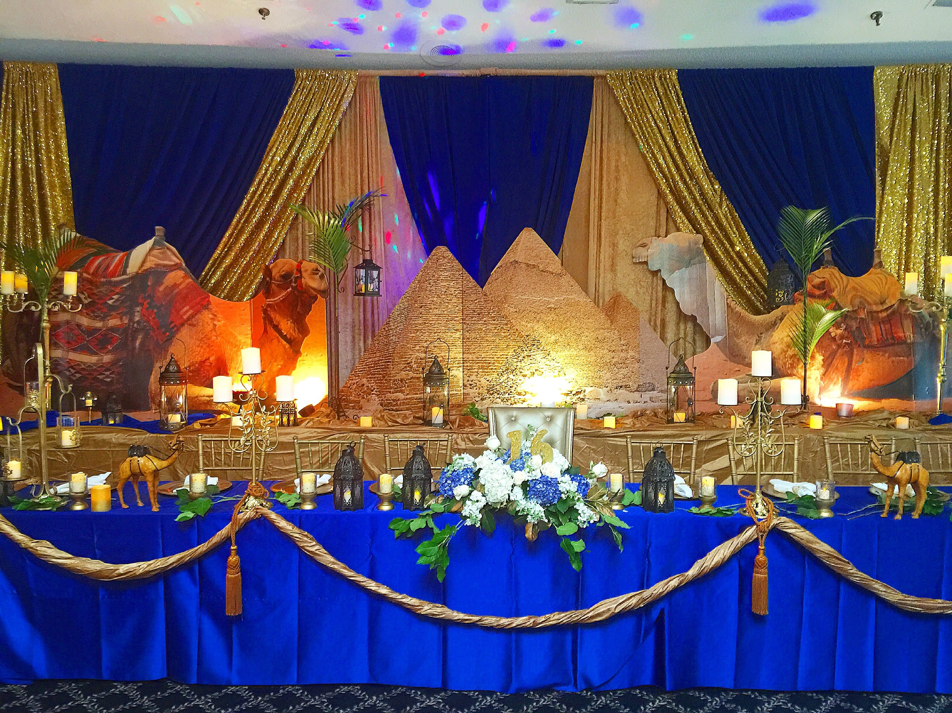 Egyptian Theme Mitzvah Decor Decorations Mitzvah Themes Decor