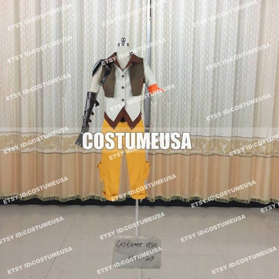 Custom made Size RWBY Yang Xiao Long Cosplay CostumeYou will Receieve:Full SetWe need those custom made size info from you, please.Total Height:Weight:Shoulder Width:Chest/Bust:Waist:Arm Length:Hip:Bicpes:Thigh:Calf Circumference:Foot Length in cm/inches:Boots Height:Cell Phone Number:To those who want to make it with standard size, please refer to the size chart. After you choose size chart, we still need some of your actual size. Thanks for your understanding.[****Male Size****]Size----Height-