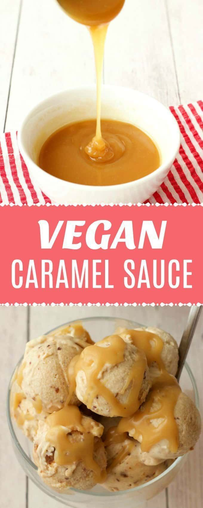 vegan caramel sauce. This sauce is perfect to pour over your vegan ice-cream or to serve with any dessert. Ready in 5 minutes! |