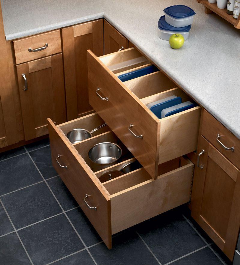 storage solutions details base pots and pans storage kraftmaid pan storage drawer on kitchen organization pots and pans id=48408
