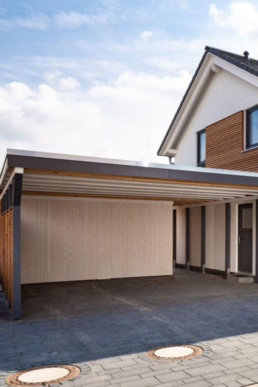 Carport Vordach Terrasse Oder Gartenhaus Contract Vario Carport Carport Holz Haus