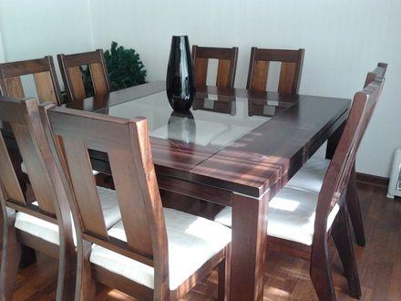 juego de comedor de sillas modernos