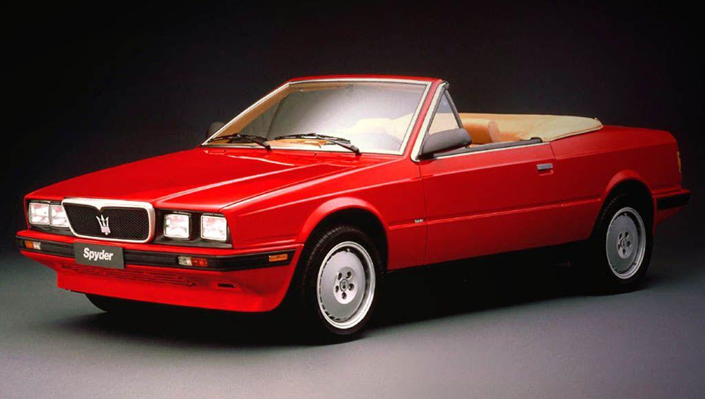 1984 Maserati Biturbo. The Biturbo was fast and beautiful, but never got much respect. BB ...