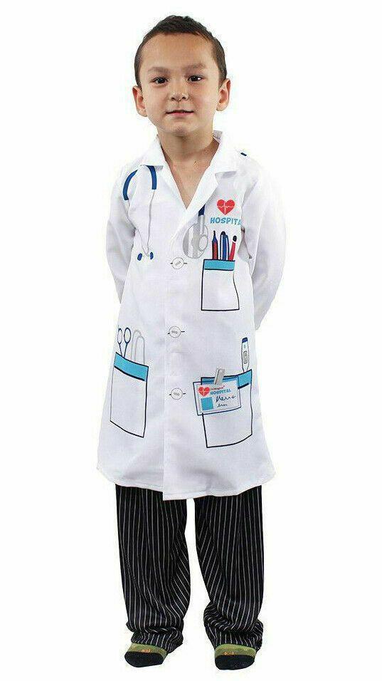 Sponsored Ebay Kids Doctor Scientist White Lab Coat