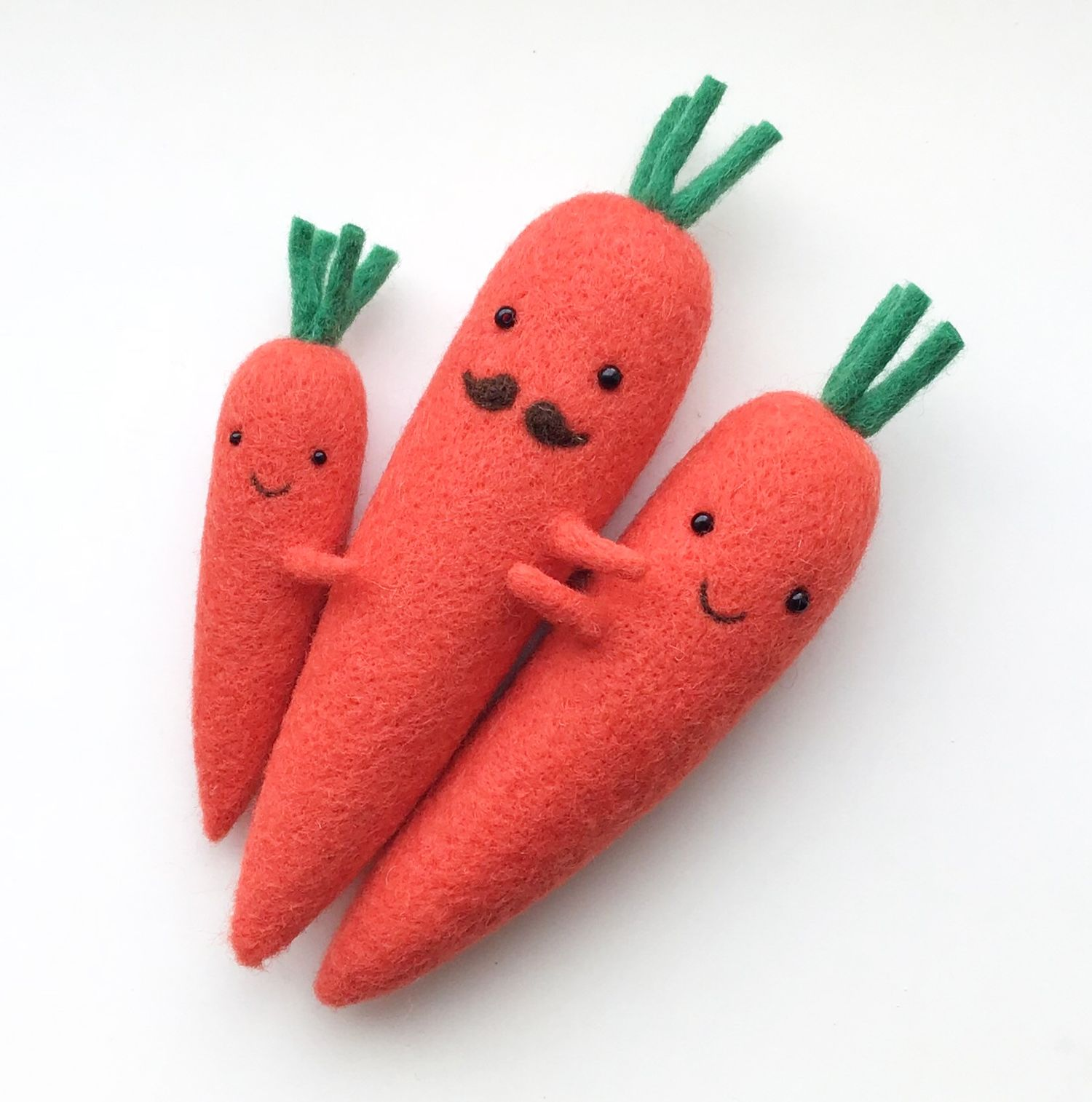 Families of Carrots, Miniature Mountains, and Bagu