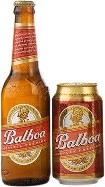 Cerveja Balboa, estilo Standard American Lager, produzida por Cervecería Nacional Panamá, Panamá. 5% ABV de álcool.
