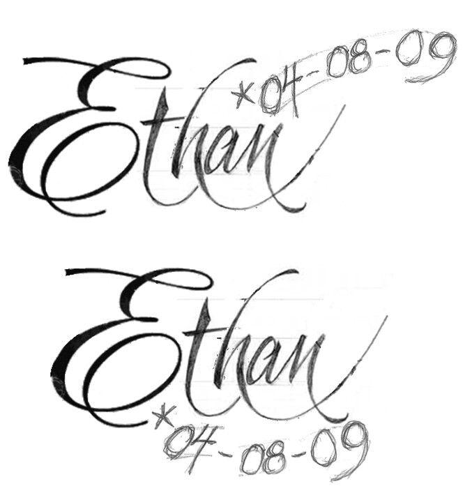 Ethan Tattoo Tattoos Ethan Tatoos