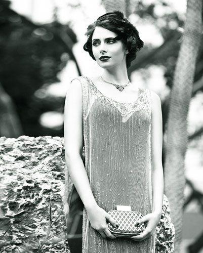 Art Déco in Schwarz und Weiß: Die Mode der 20er Jahre