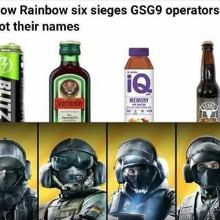 Anime Rainbow Six Siege Jager