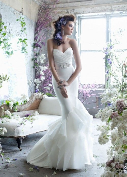 I like this dress. It's a maybe for my big day.