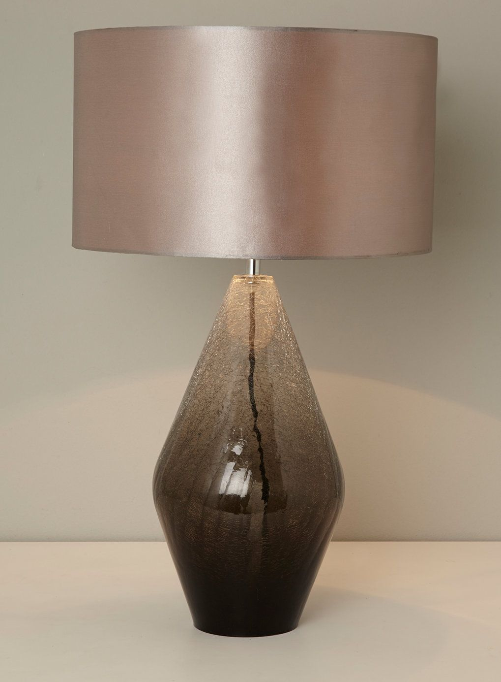 Carrina table lamp bhs a good tall lamp at approx 60cm with smoke carrina table lamp bhs a good tall lamp at approx 60cm with smoke ombre coloured geotapseo Gallery
